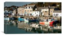 Padstow Harbour, Canvas Print