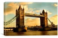 Tower Bridge - London, Canvas Print