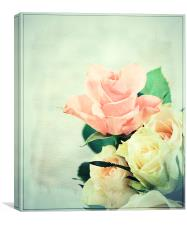 Rose Delights ., Canvas Print