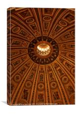 Saint Peters dome, Canvas Print