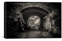 The Tunnel, Canvas Print