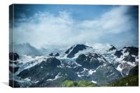 The Swiss Alps #3, Canvas Print