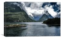 Milford Sound, Canvas Print
