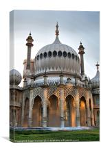 Royal Pavilion, Brighton, Canvas Print