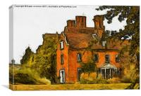 Sidcup Place (now Brewers Fayre), Canvas Print