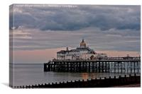 Eastbourne Pier, East Sussex. 4, Canvas Print