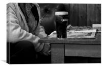 Time for a Pint, Canvas Print