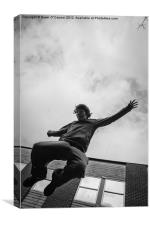 Parkour, Free Runner, Canvas Print