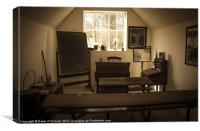 The Old Schoolhouse, Canvas Print