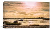 Isle of Sheppey Seascape, Canvas Print