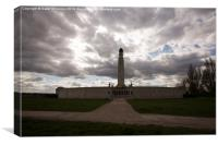 War Memorial Chatham, Canvas Print