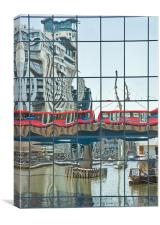 City Reflections, Canvas Print
