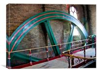 Crossness Pumping Station 2, Canvas Print
