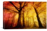 Hart Of The Forest, Canvas Print