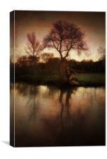By The Wey, Canvas Print