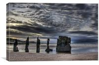 Favourite old wreck, Canvas Print