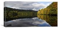 Pitlochry Reflections, Canvas Print