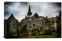 Glasgow Cathedral, Canvas Print