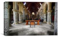 The Chancel, Canvas Print