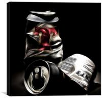 Beer Cans, Canvas Print