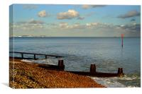 Deal Beach, Canvas Print