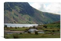 Across Wastwater Lake, Canvas Print