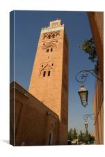 Koutoubia Mosque, Canvas Print