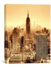 Empire State Building!, Canvas Print