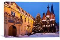 Christmas in Michelstadt, Canvas Print