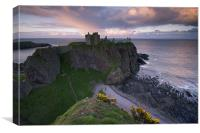 Dunnottar Sunset, Canvas Print