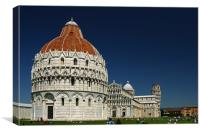 Pisa Cathedral, Canvas Print