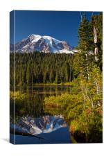 Reflection Lake, Canvas Print
