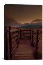 Gateway to the Mournes, Canvas Print