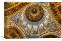 St. Isaacs Cathedral., Canvas Print