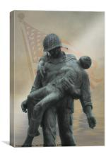 LIBERATION MONUMENT, Canvas Print