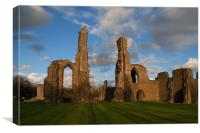 Neath Abbey, Canvas Print