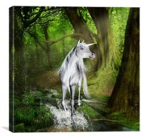 The White Prince, Canvas Print