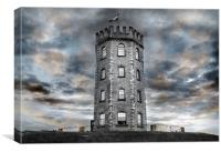 Jersey Marine Tower, Canvas Print