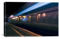 Drem Train Station, Canvas Print