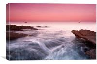Dunbar Sunset, Canvas Print