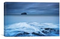 Bass Rock, Canvas Print