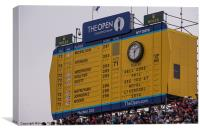 The Open Leaderboard, Canvas Print