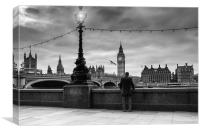 My View of Westminster, Canvas Print