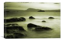 Misty Seas, Canvas Print
