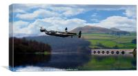 Dam Buster, Canvas Print