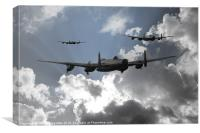 Bomber Command, Canvas Print