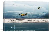The Battle of Britain, Canvas Print
