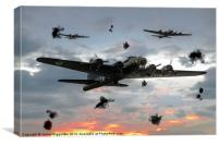 Memphis Belle, Canvas Print