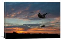 Joint Helicopter Command, Canvas Print