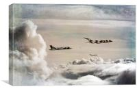 607 Refuelling, Canvas Print